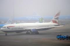 British Airways G-BNWZ Boeing 767-336ER cn/25733-648 @ EHAM / AMS 08-11-2015 (Nabil Molinari Photography) Tags: view company 1997 british boeing airways dd current ff ams the eham 648 22597 25733 21197 albs 767336er gbnwz rb211524h 40061b cn25733648 08112015
