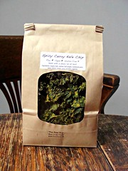 Spicy Curry Kale Chips (knightbefore_99) Tags: canada west green coast vegan healthy bc farmers market craft tasty curry chips delicious local spicy organic kale gluten