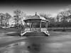 Mary Stevens BandStand 2015 (sabphotos69) Tags: park leica blackandwhite monochrome parks bandstand dlux stourbridge digilux marystevenspark sabphotography