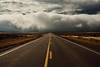 The Coming Storm (JasonCameron) Tags: road snow storm fall fog clouds drive utah desert ominous dramatic drama