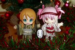 Merry Christmas! (Ninotpetrificat) Tags: christmas anime japan toys navidad manga figure merrychristmas figuras madoka feliznavidad froheweihnachten japantoys bonnadal kirinokousaka cupoche