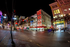 French Colors No 2 (orebrandonm) Tags: street city building night french lights louisiana neworleans nighttime canon5dsr 5dsr