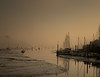 The Warming Glows (richardsolway) Tags: boats river estuary mud sea tide tidal sun mist glow dawn orange cornwall penryn