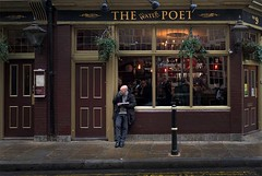 The Water Poet (richard.scott1952) Tags: advert alley architecture building city cityscape steet culture decoration environment fashion food friends solitary outside outsider heritage history old ornate london scrollwork shadow shop sign stone store storefront tourist tradition travel trip victorian vintage wall windows fuji xpro2