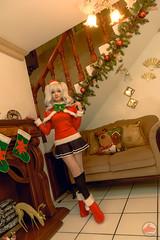 Kashima Christmas cosplay version photoshoot by @fanored (fano.red) Tags: mexican kashima kancolle sexy kawaii cosplayer legs skirt christmas moe durango cosmaker mexico cosplay