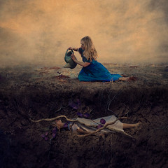 from the ashes (brookeshaden) Tags: brookeshaden fineartphotography conceptualphotography selfportraiture surrealphotography