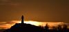 Альоша (saromon1989) Tags: monument statue альоша пловдив plovdiv bulgaria българия залез sunset