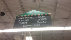 Aisle 1 Marker, Close-Up (Retail Retell) Tags: kroger grocery store hernando ms retail desoto county millennium décor 475