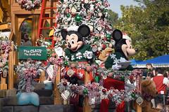 "Minnie Mouse & Mickey Mouse in ""A Christmas Fantasy"" Parade at Disneyland (GMLSKIS) Tags: disney california amusementpark anaheim disneyland achristmasfantasy parade mickeymouse minniemouse"