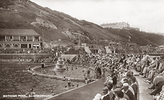 South Bay Pool (storiesfromscarborough) Tags: scarborough southbaypool seaside history swimming lido outdoorpool postcard divingboard tidalpool seawater swimmers