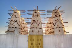 Empty Sky. (zai Qtr) Tags: sheikhfaisalmuseum qatar doha shahaniya canon uae al rayyan zaiqtr outdoor sky pigeon house