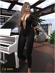Scandalize. Lyd Jumpsuit . FATPACK_001 (Lules_Brimm) Tags: fashion female mesh vogue jumpsuit