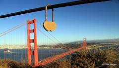 San Francisco (pandt) Tags: love lock heart hearts goldengate bridge sanfrancisco california water sky bay boat city outdoor skyline landscape westcoast coast coastal ocean park