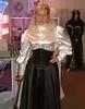 Satin-Outfit 5 (alex.silk) Tags: satinbluse mieder raincoat regenmantel blouse stiefeletten mantel highheels satinrock coat lackmantel regencoat satin tv lack trenchcoat white