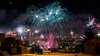 Welcome 2017 (Torfi Ómarsson) Tags: firework new year fun joy happiness danger colors night street