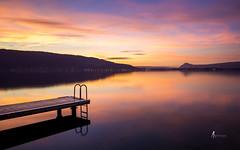 ouf (pierrelouis.boniface) Tags: sun soleil le longexposure water lake annecy hautesavoie lac canon