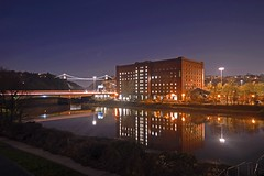 Reflections (L Hughesy) Tags: bristol bridge brunel reflection longexposure