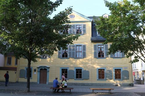 Schillers Wohnhaus Weimar
