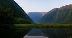 Waimanu Valley (Raiatea Arcuri) Tags: waimanu valley reflection pond river bigisland hawaii remote kohala sunrise