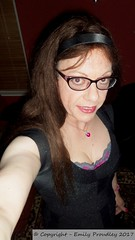 January 2017 (emilyproudley) Tags: crossdresser cd tv tvchix tranny trans transvestite transsexual tgirl tgirls convincing dress feminine girly cute pretty sexy transgender xdresser gurl glasses indoor
