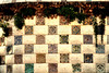Il muro a scacchi (AlessandroDM) Tags: barcellona antonigaudi parcguell gaudi catalunya catalogna spagna spain espana