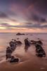 Barrika (PiTiS ¬~) Tags: barrika basquecountry costa coast rocks rocas longexpo longexposure largaexposicion playa beach sunset atardecer colores colors cielo sky clouds nubes