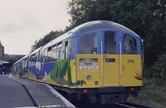 Island Line EMU 483002 Shanklin (jc_snapper) Tags: emu train railway londonunderground londontransport 1938stock islandline isleofwight metrocammell tubetrain shanklin electrictrain triebwagen automotrice class483