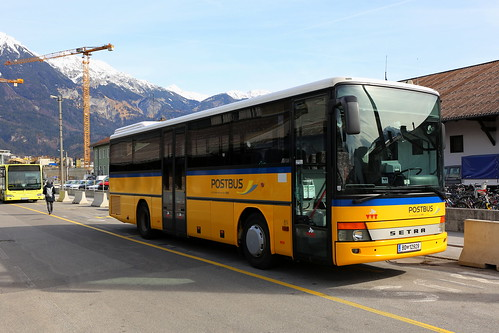 ÖBB Postbus SETRA, Innsbruck Hbf