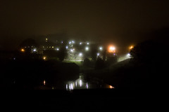 Crookes Valley Park (karl101) Tags: sheffield fog morning early