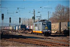 DSC_0122 (Berliner_77) Tags: trainspotting mainzbischofsheim eisenbahn railway güterverkehr baureihe 151 027 hectorrail 162 003 metropolis