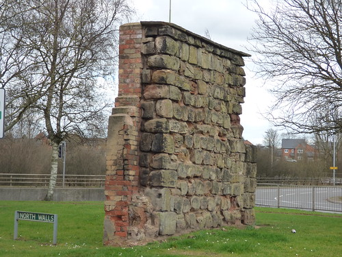 North Walls, Stafford - East Gate