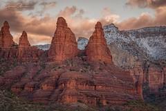 Sedona Arizona (Gerry Groeber) Tags: sedona arizona snow