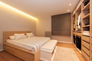Dormitorio con vestidor - Proyecto Sant Gervasi