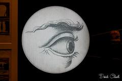 Occhio ottico (Daniele Kolac) Tags: occhi occhio iride pupilla ciglia sopracciglia retina moleantonellianatorino museodelcinema