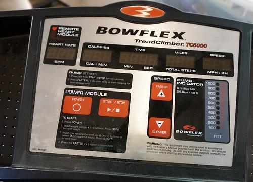 BOWFLEX Tread Climber ($577.50)