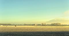 Wintery Warmenhuizen. (Alex-de-Haas) Tags: 50mm d5 dutch hdr january nederland nederlands netherlands nikkor nikkor50mm nikon nikond5 noordholland thenetherlands warmenhuizen westfrieseomringdijk bevroren cityofwarmenhuizen cold daglicht daylight frozen gevroren handheld highdynamicrange icy januari koud landscape landschap licht light overdag polder polderlandschap sun sunray sunrays sunbeams sunny sunrise winter zon zonnestralen zonnig zonsopgang