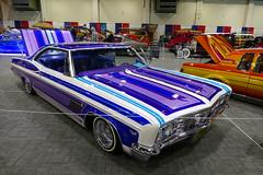 1966 Chevrolet Impala (bballchico) Tags: 1966 chevrolet impala lowrider sampsonfernandez gnrs2017 carshow