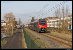 R-net 2013 - 8643 (Spoorpunt.nl) Tags: 28 januari 2017 rijngouwelijn nsr ns reizigers rnet flirt 2013 trein 8643 boskoop