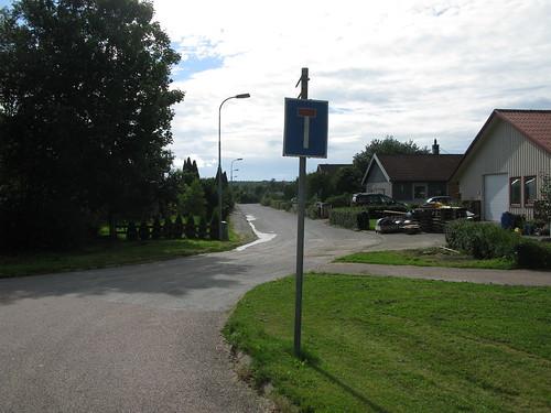 Fjärdingsgatan, Ytterby, 2012