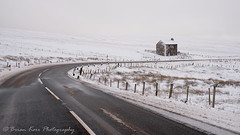 The Cold And Lonely Road (.Brian Kerr Photography.) Tags: snow winter weather cumbria hartside