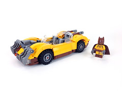 The Catmobile (Tim Lydy) Tags: lego batman movie rebrick contest catman catmobile dc