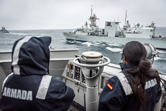 SEA SHIELD EXERCISE 2017 (NATO HQ MARCOM) Tags: almirantejuandeborbon canada exercise f102 f340 hmcsstjohns maritimecommand nato snmg2 spain seashield tu02