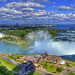 Niagara Falls from Tower Hotel