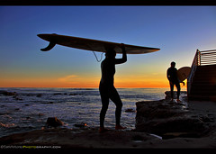 Another Day at the Office (Sam Antonio Photography) Tags: surfer silhouette sunsetcliffs pointloma sandiego california surfing sunset beach black board dawn dusk extreme female girl health holiday horizons la longboard ocean orange outline person rear relax relaxation rocks sea serenity sport summer sun sunrise sunshine surf surfboard tranquil tropical vacation view watching water watersport wave waves wavy woman young wetsuit samantoniophotography