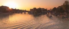 13/52 Sunrise on the Seine Paris (artvaleri) Tags: paris seine sunrise springtime îledelacité pontdesarts