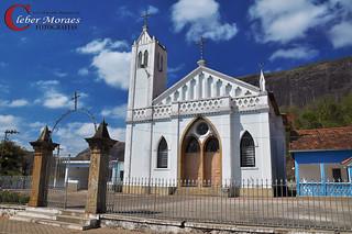 Pátio Igreja Monte Serrat - Comendador Levy Gasparian - RJ - Brasil