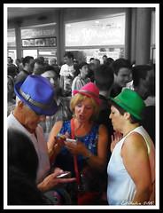 Los jóvenes de mayor edad (Estibaliz Llano Vicente) Tags: color colour contest fiestas concurso guipuzcoa gipuzkoa renteria 2015 orereta madalenas jaiak madalenak errenteria
