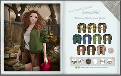 {amiable}Military  Half-length Sleeve Jacket &T-Shirt (50%OFF) @TKP round 9. (nodoka Vella) Tags: nature sale event secondlife kawaii 50off round9 tkp militaryjacket iamnature {amiable} nodokavella thekawaiiproject