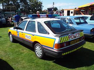 1989 Ford Sierra - Metropolitan Police