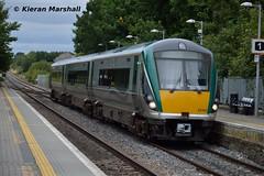 22051 arrives at Portlaoise, 4/9/15 (hurricanemk1c) Tags: irish train rail railway trains railways irishrail rok rotem portlaoise 2015 icr iarnród 22000 22051 éireann iarnródéireann 3pce 1415heustonportlaoise